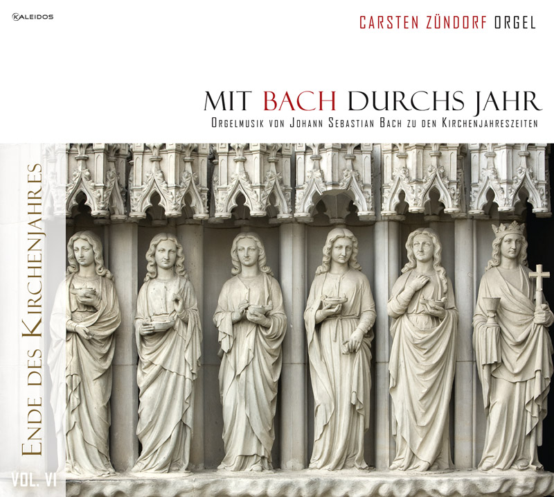 Mit Bach durchs Jahr - Cover